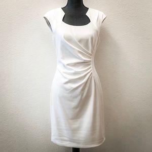 NWT Calvin Klein Pleated Cap Sleeve Dress